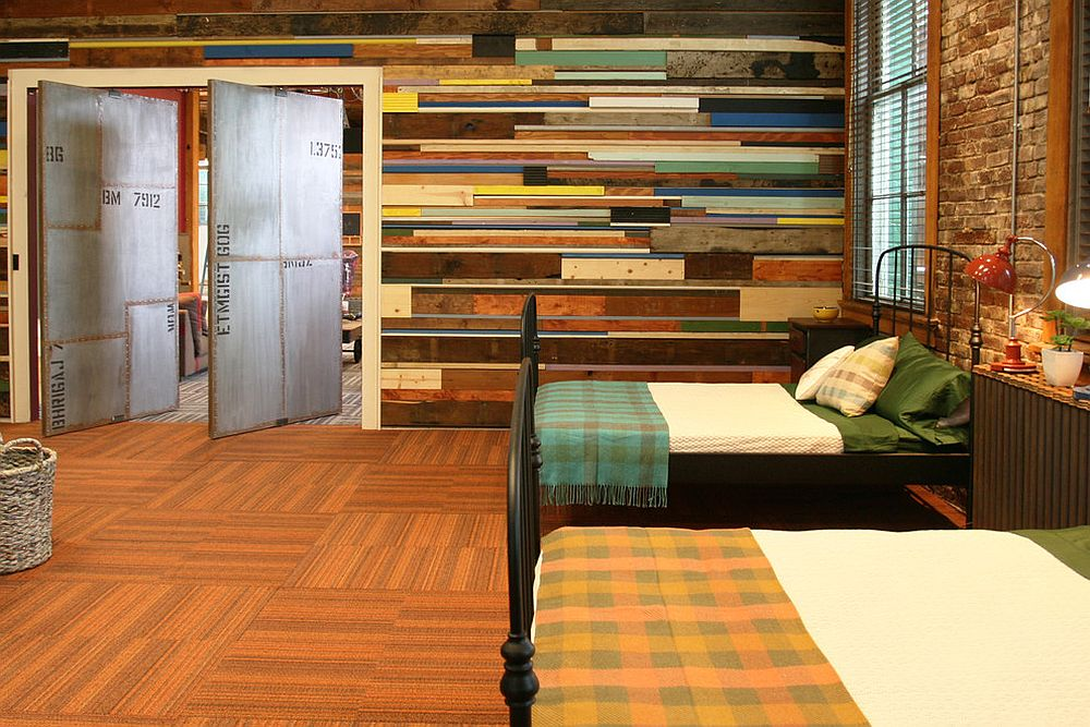 Captivating 25 Awesome Bedrooms With Reclaimed Wood Walls