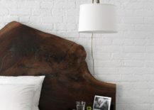 Whitewashed-brick-wall-backdrop-for-the-modern-bedroom-with-woodsy-bed-217x155