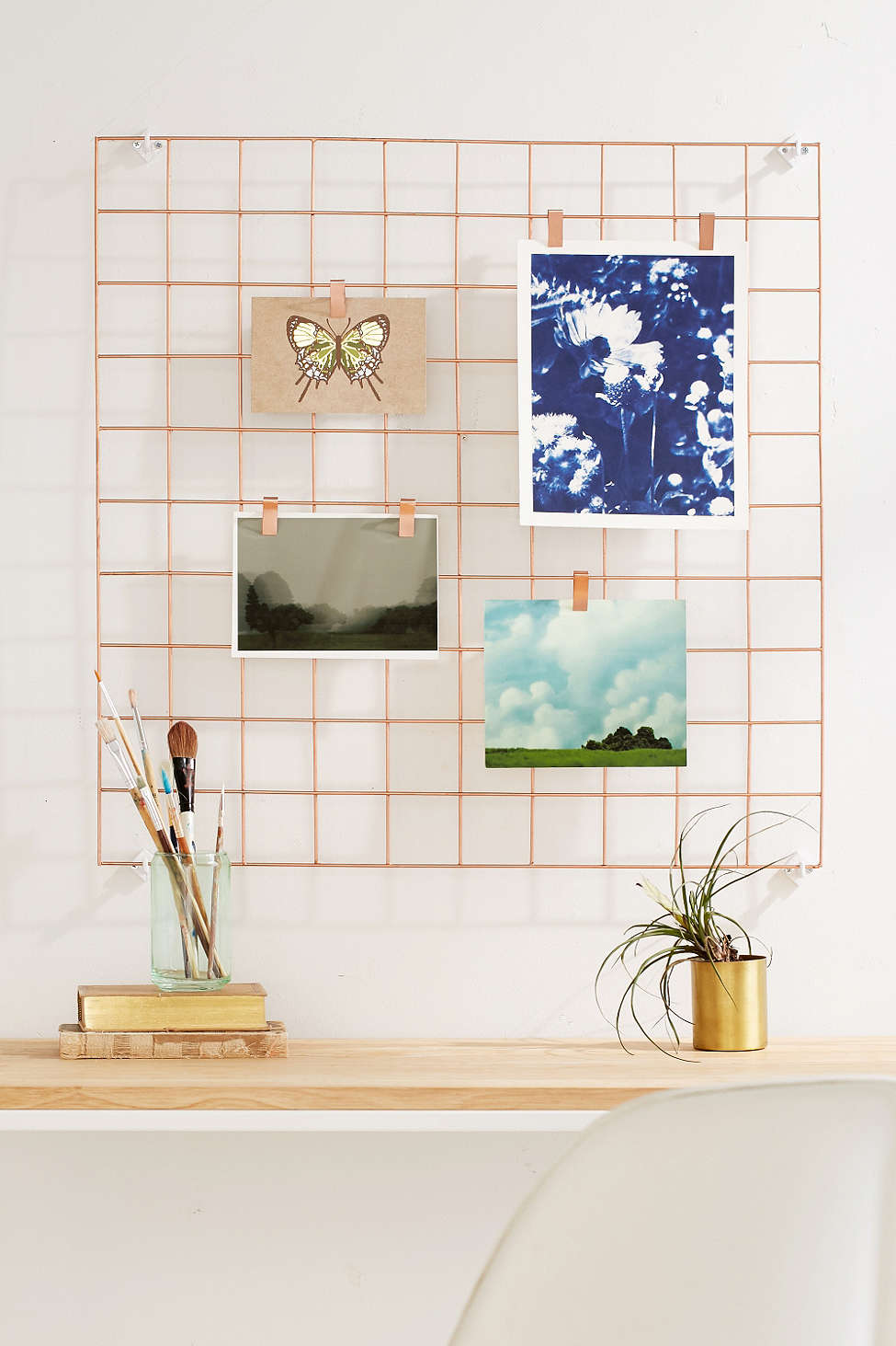 Wire wall grid from Urban Outfitters