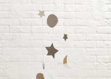 Wooden celestial mobile from The Land of Nod