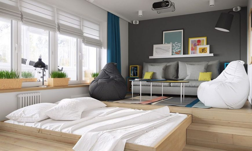 Tiny 34sqm Apartment Blends Space-Savvy Design with Scandinavian Style
