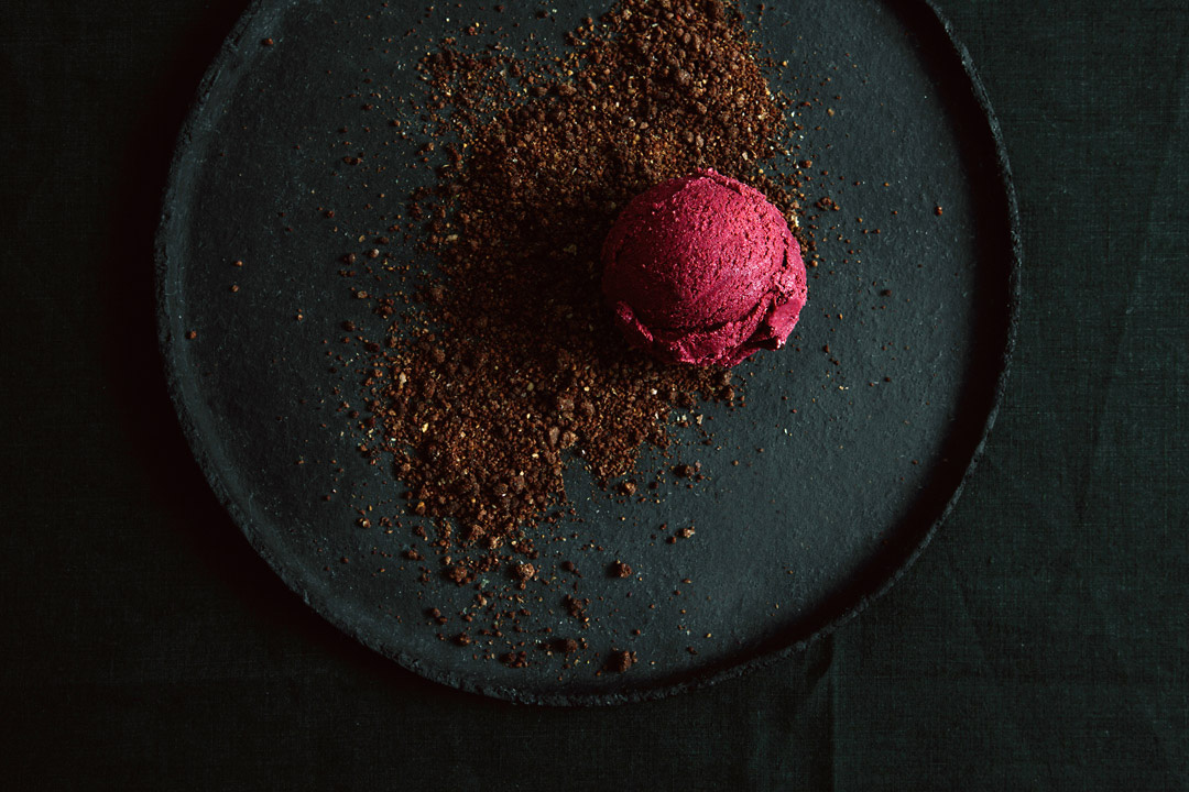 Beetroot Ice Cream from Kraut|Kopf