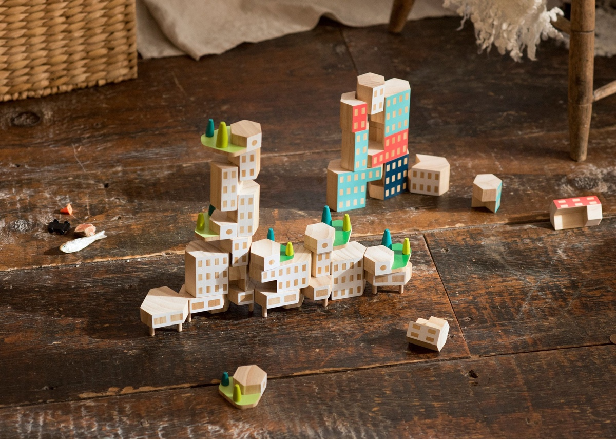 Blockitecture® Garden City.