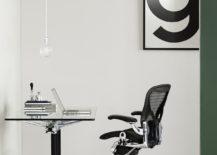 Classic Aeron chair.