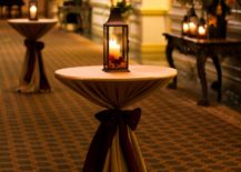 Cocktail tables from SnB Party Rentals