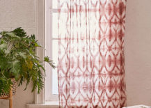Cotton Shibori curtain from Urban Outfitters