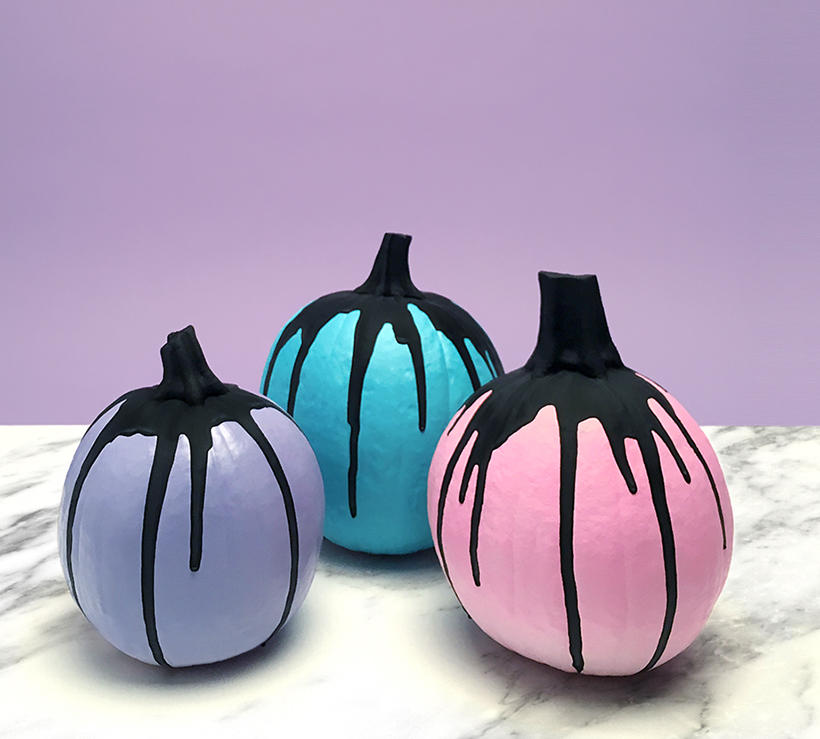 Creepy cute pumpkins from Happy Mundane