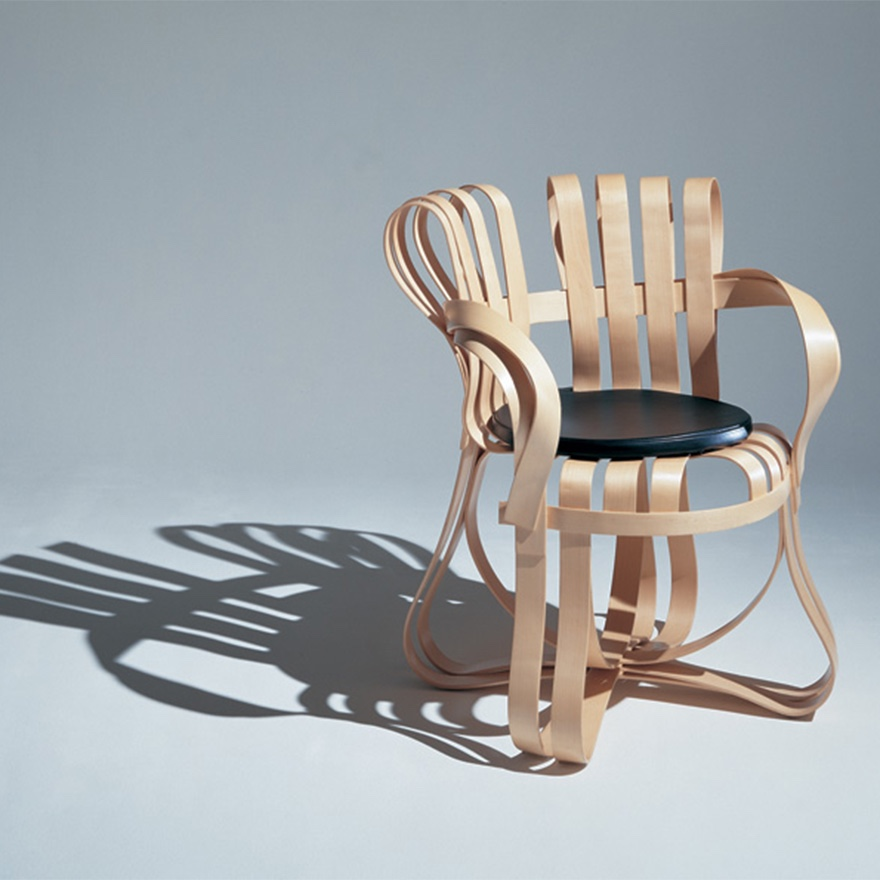 Frank Gehry's Cross Check™ chair.