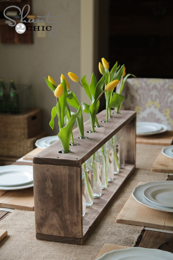 Diy Vase Centerpiece : Wine bottle centerpieces budget friendly and looking chic