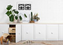 DIY credenza makeover from A Beautiful Mess