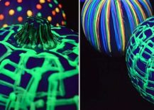 DIY glow in the dark Halloween pumpkins [From: I Love to Create Blog]
