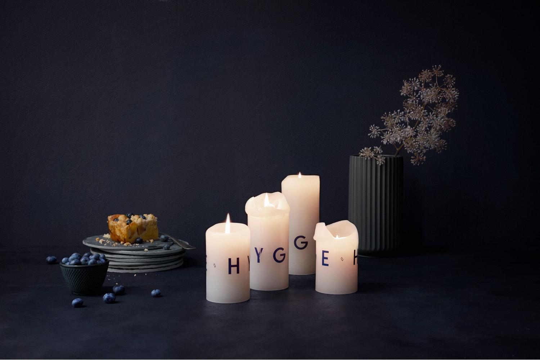 Deep Glow Hygge candles.Image© 2016SKANDINAVISK.