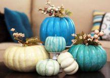 Delightful-pumpkin-centerpiece-for-Halloween-and-fall-dinner-table-217x155