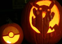 Delve into more Pokemon Go fun with Pokeball and Pikachu pumpkin carving [From: Johwee / DeviantArt]