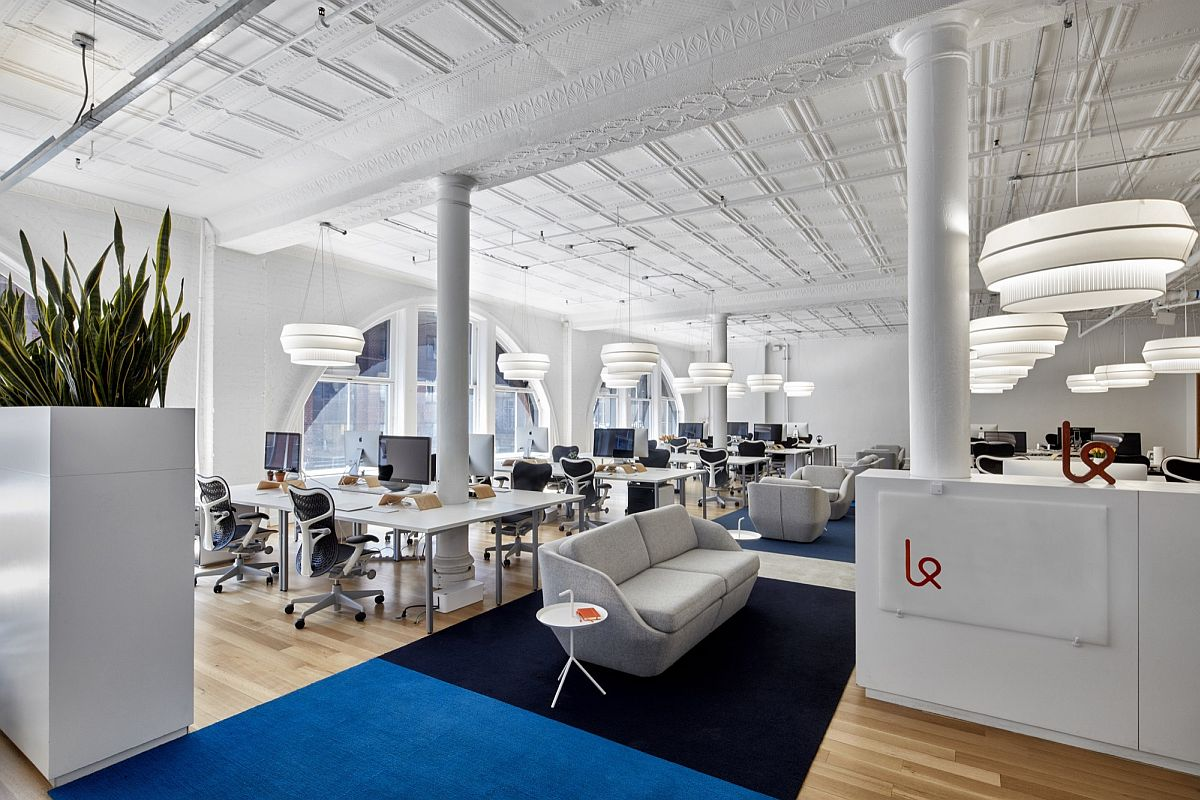 Dutch American design shapes modern office of Karma in Little Italy