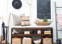 Entryway makeover from Camille Styles