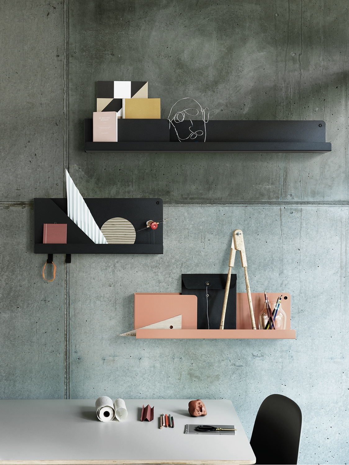 FOLDED by the Dutch designer Johan Van Hengel for Muuto. Image courtesy of Muuto.
