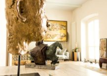 Fabulous collection of artwork elevates the style quotient of the Milan apartment