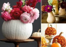Fabulous pumpkin centerpieces look great even beyond fall