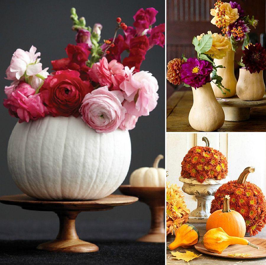 Fabulous pumpkin centerpieces look great even beyond fall