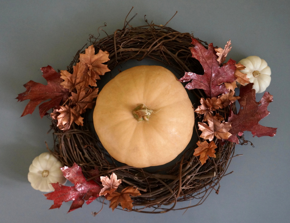 Fall centerpiece styling from Lining-shop