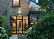 Four story victorian terrace house in London given a smart modern extension