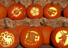 Game of Thrones pumpkin carving ideas