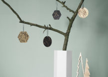 Geo ornaments from ferm LIVING