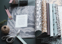 Gift wrap and tags from ferm LIVING