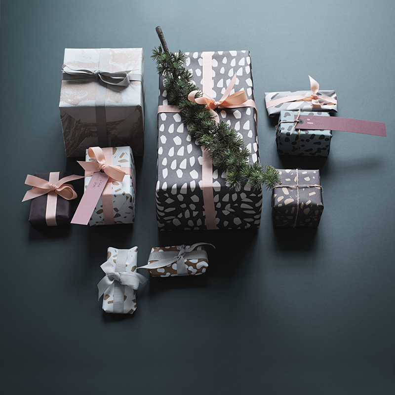 Gift wrap from ferm LIVING