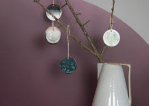 Glazed ornaments from ferm LIVING
