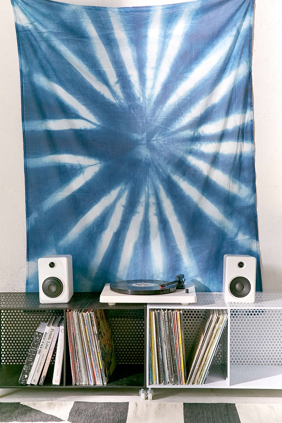 Graham Keegan Blue Shibori Tapestry from Urban Outfitters