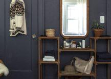 Grey room featured at Design Sponge