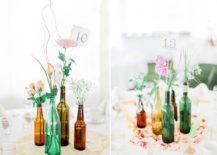 18 Festive Wine Bottle Centerpieces