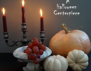 A Decadent Halloween Centerpiece Idea