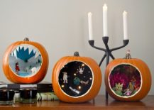 Halloween pumpkin dioramas let you showcase your FIY and crafting skills
