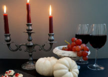 Halloween snack 217x155 A Decadent Halloween Centerpiece Idea