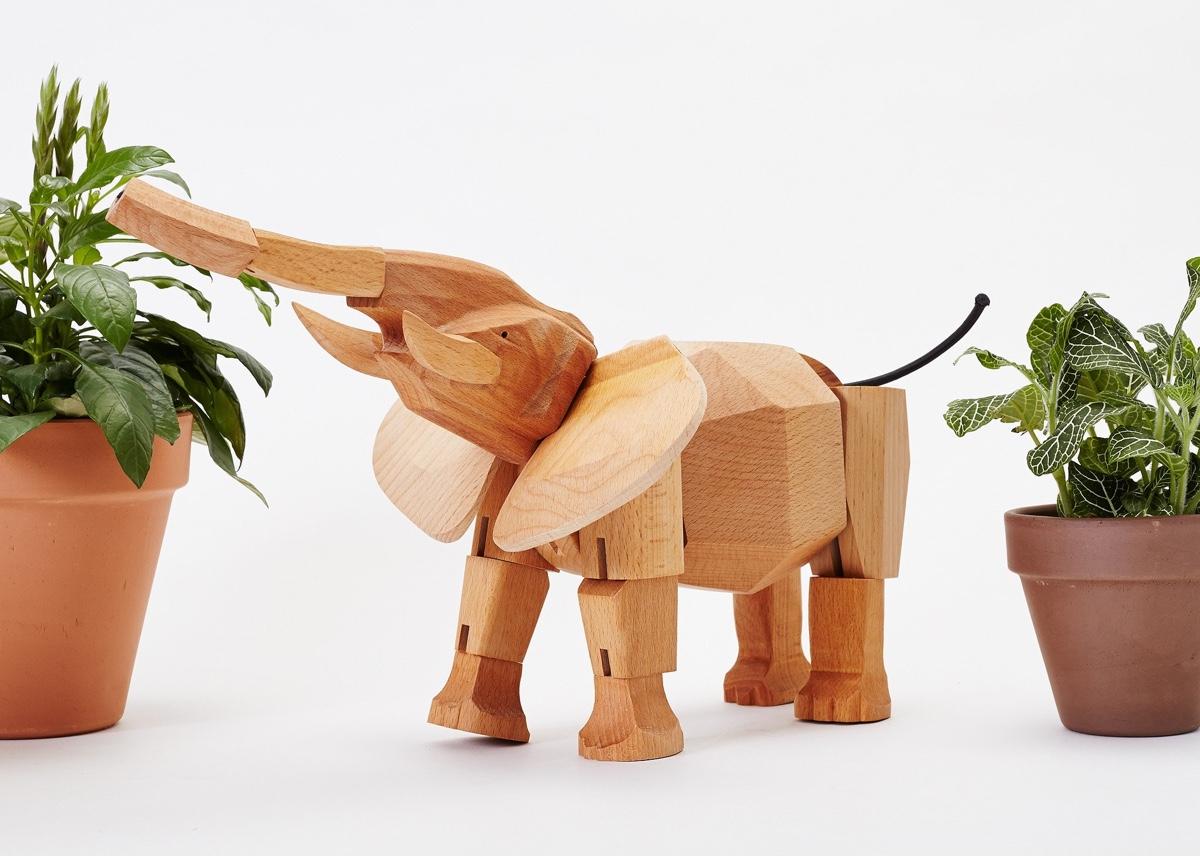 Hattie the elephant.