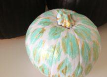 Ikat pumpkin from Decorgreat