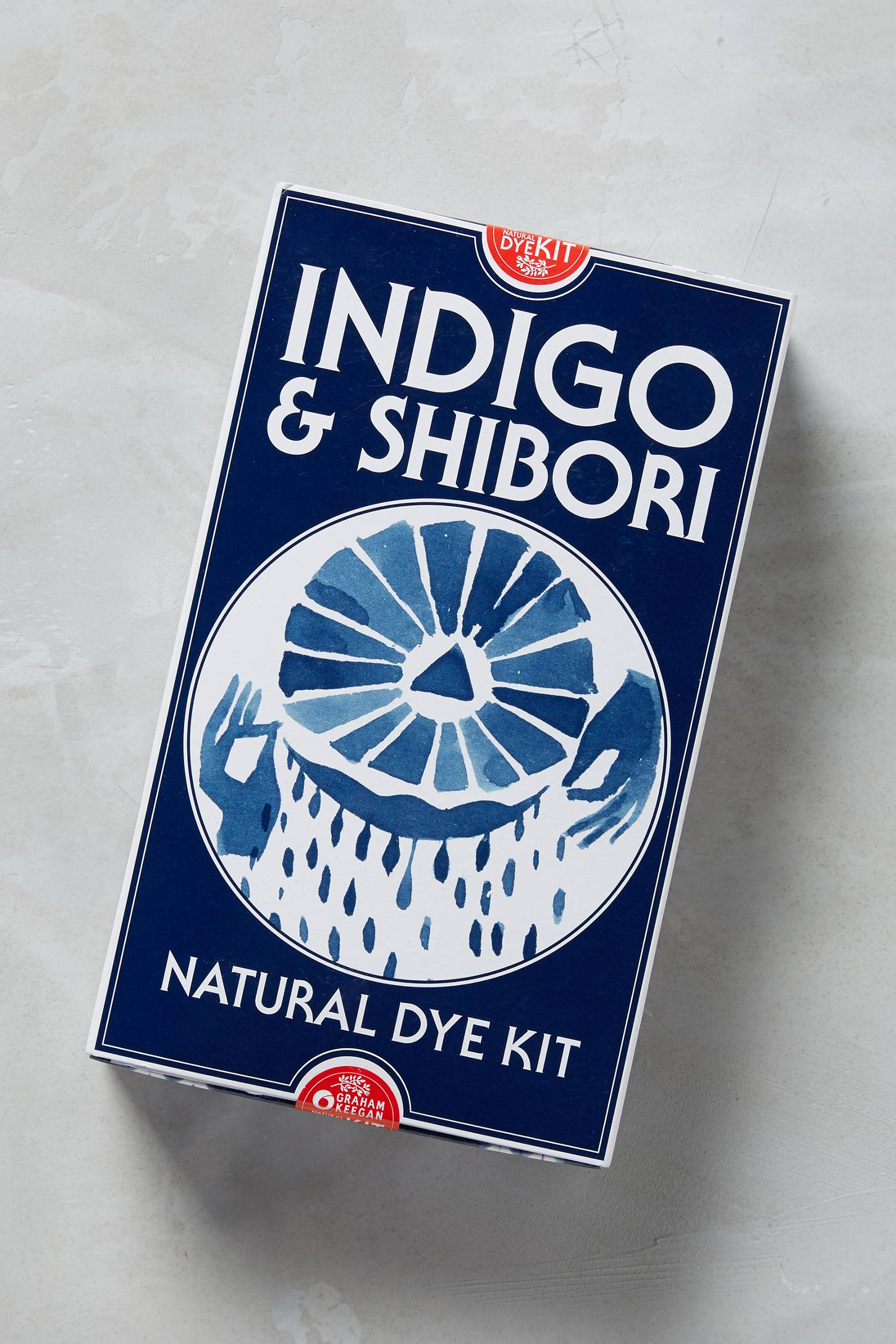 Indigo and Shibori kit from Anthropologie
