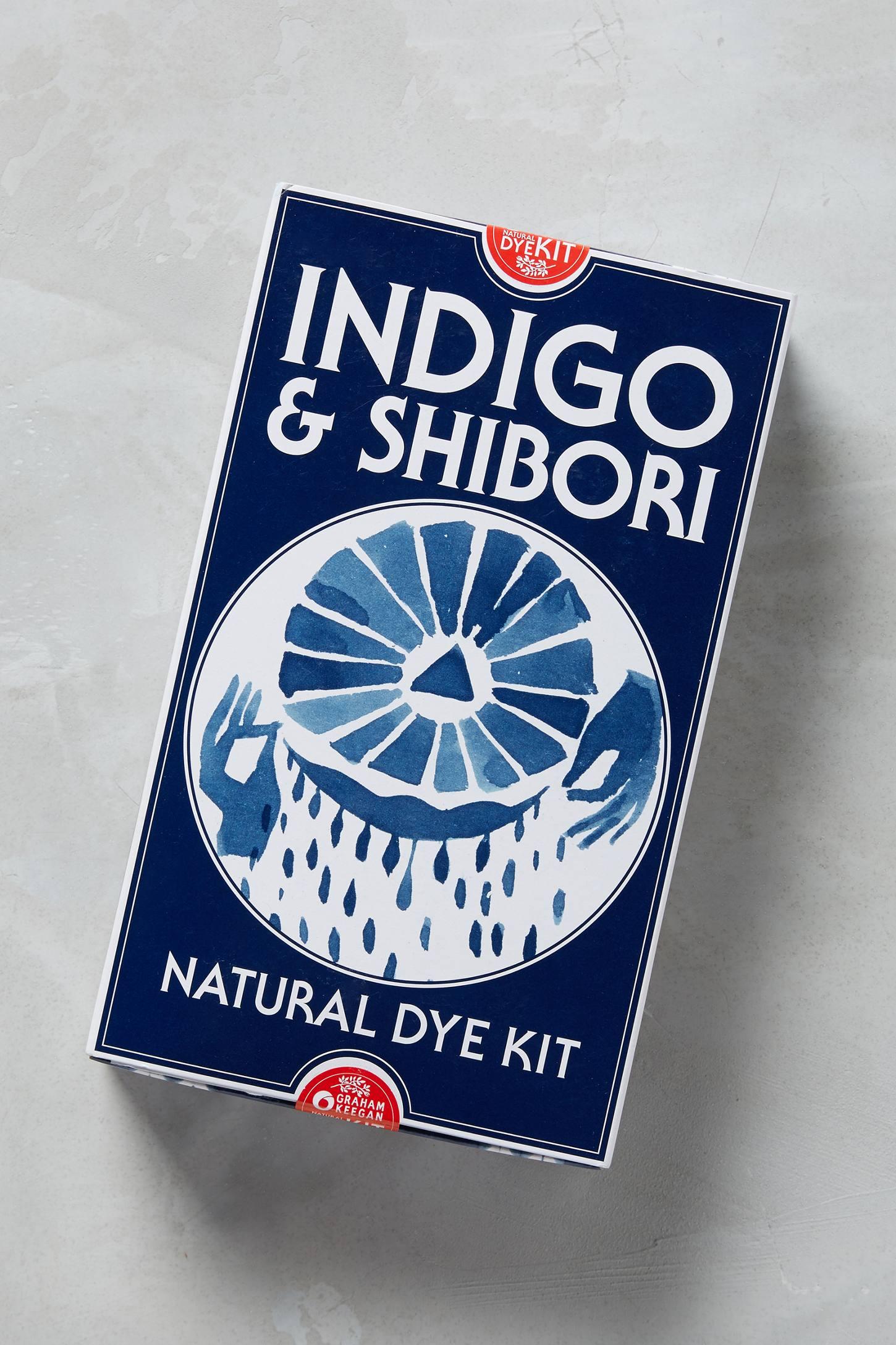Indigo and Shibori kit from Anthropologie