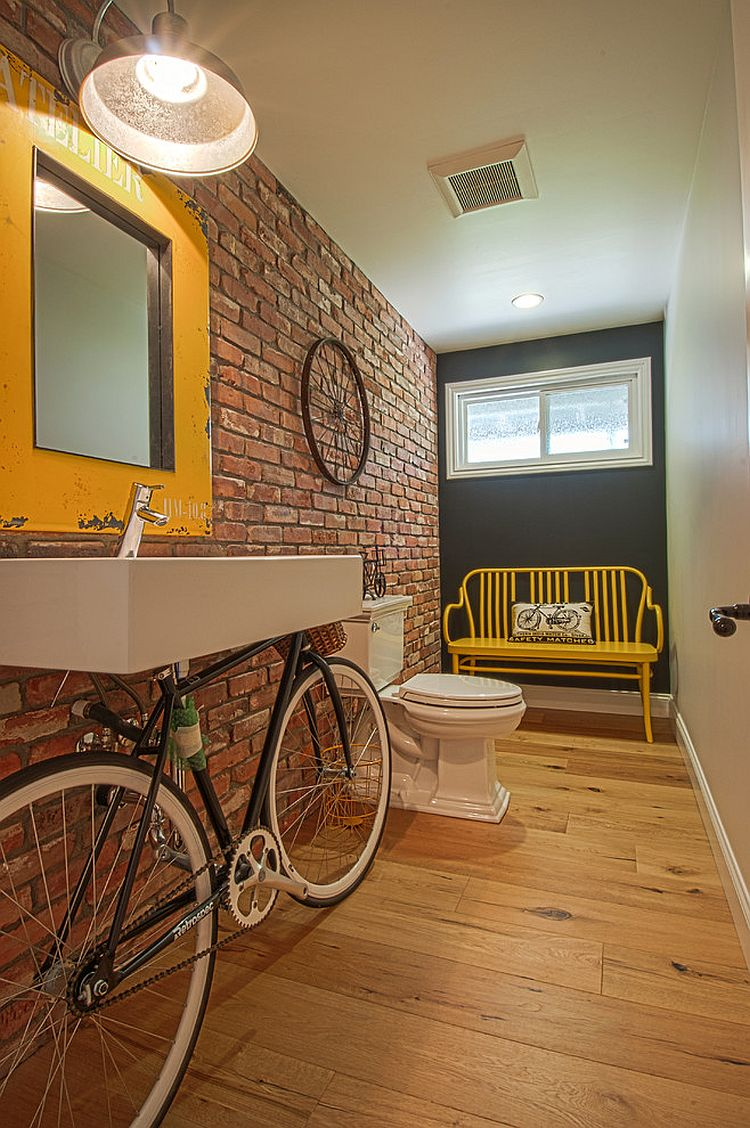 Bathroom Fitting Cost >> Trendy and Refreshing: Gray and Yellow Bathrooms That Delight