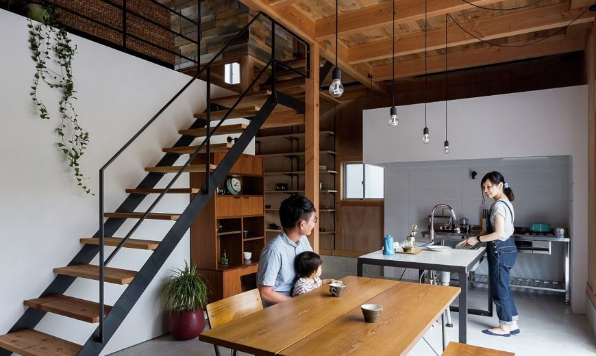Contemporary House in Japan Mimics the Appeal of a Renovated Warehouse!
