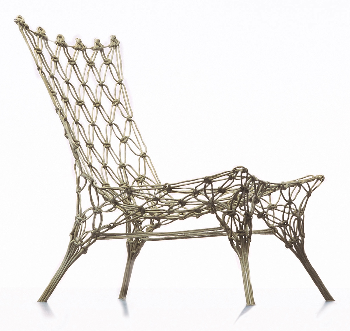 Knotted chair by Marcel Wanders.