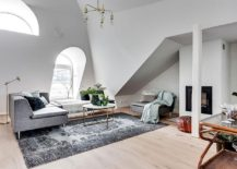 Light filled Stockholm apartment with Scandinavian style 217x155 Small Attic Apartment in Stockholm turns to Light Filled Scandinavian Style