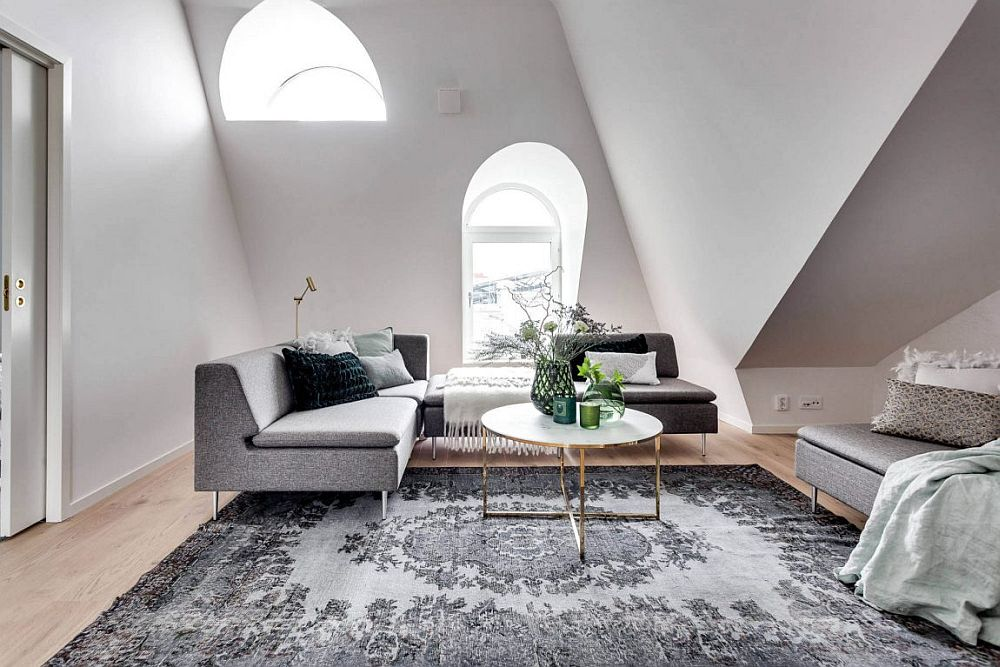 View In Gallery Low Slung Decor Gives The Living Room A Spacious Visual  Appeal. View In Gallery Modern Scandinavian Apartment ...