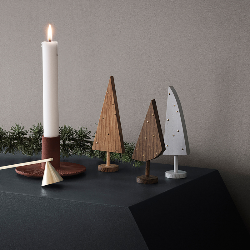Modern holiday trees from ferm LIVING