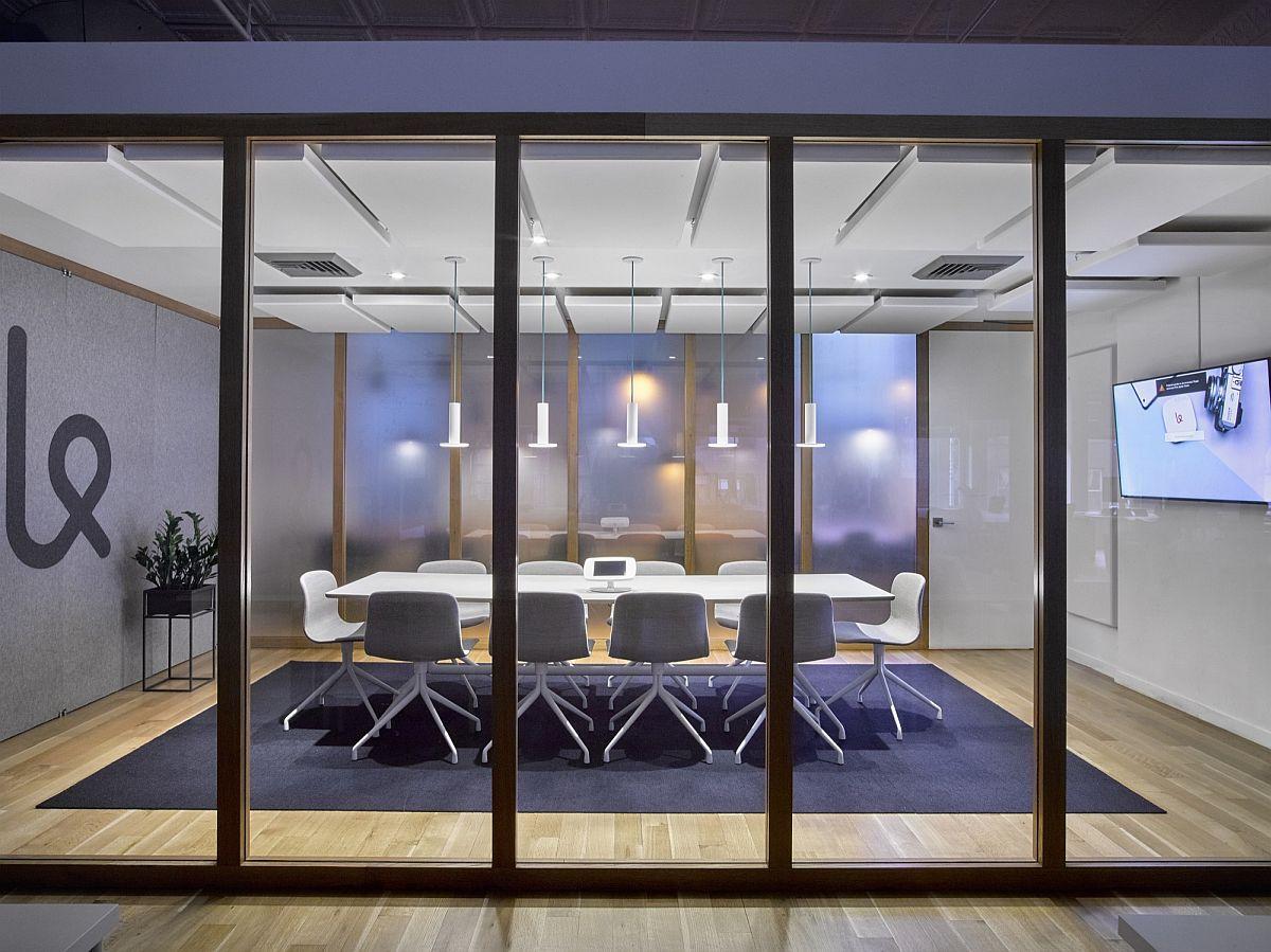 Modern meeting room design inside the home office