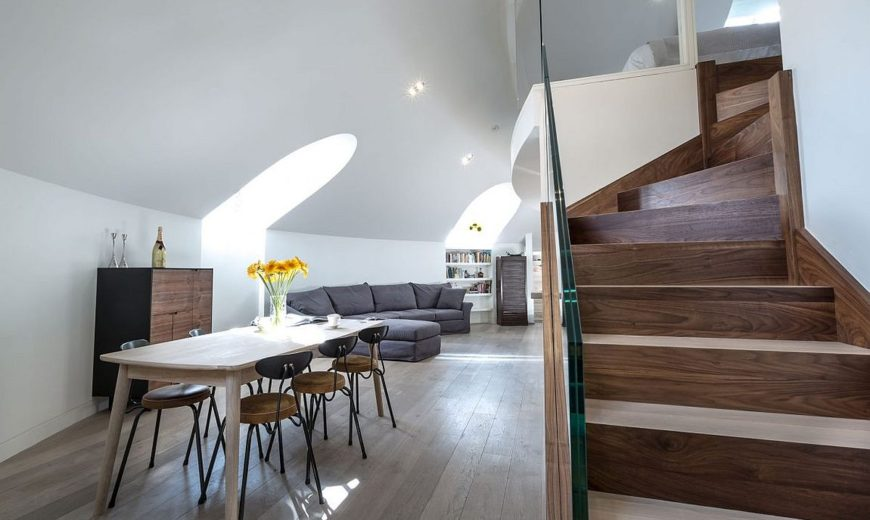 This Awesome London Penthouse Sits Inside a Revamped Orthodox Church!