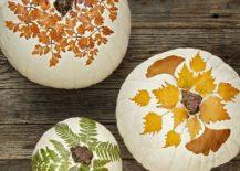 Nature-inspired-painted-pumpkin-idea-for-a-smart-Halloween-217x155